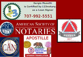 West Sacramento Notary Public, California Apostille Service, Spanish English Translation, Mobile Traveling certified signing agent, loan signing, also speaks Italian and Spanish. Sergio Musetti http://www.WestSacramentoNotary.com